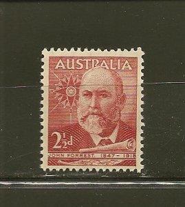 Australia 227 John Forrest MNH