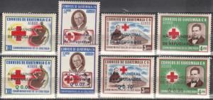 Guatemala #C235-42  MNH  CV $20.85 (A17782)