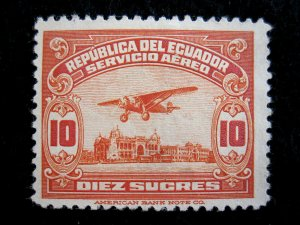 ECUADOR - SCOTT# C15 - MNG - CAT VAL $135.00