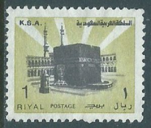 Saudi Arabia, Sc #882b, 1r Used