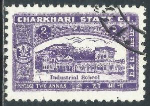 India-Charkhari, Sc #30, 2a Used