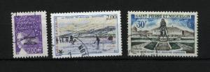 St. Pierre & Miquelon 3 different used  PD .15