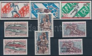 Cameroon stamp 1971-1972 Summer Olympics 3 diff sets MNH 1971 WS197612