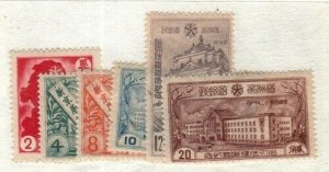 Manchuko Scott 121-6 Mint hinged [TG1094]