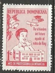 Dominican Republic RA40 VFU Z661-8
