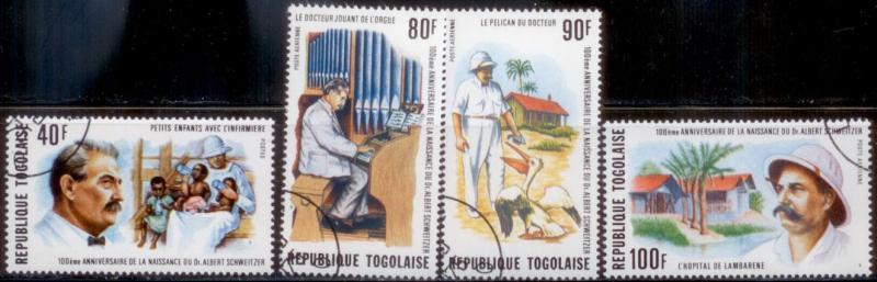 Togo 1975 SC# 916,C259-61 CTO L282-3