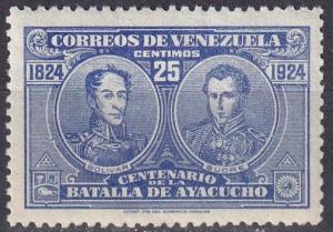 Venezuela #286A  F-VF Unused CV $3.50  (SU7495)