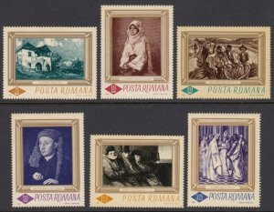 Romania 1859-64 Paintings mnh