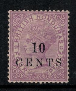 British Honduras 1888 SC 23 LH CV $70