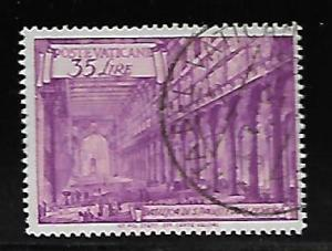 VATICAN CITY 129 USED 1949 ISSUE