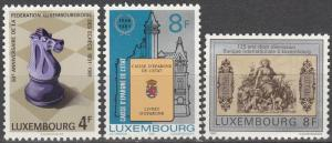 Luxembourg #659-61  MNH  (S5861)