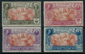Italy #143-6* NH CV $64.00
