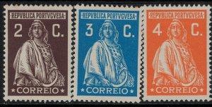 Portugal 1926 SC 398-421 Mint SCV $130.00 Set