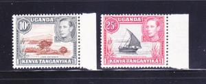 Kenya, Uganda, Tanzania 71, 75 MNH Various (A)
