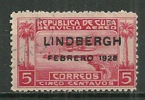 1928 Cuba C2 Lindbergh used