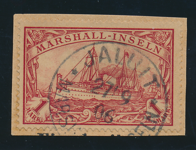 Marshall Islands Stamp Scott #22, Used, On Paper Good Centering Town/Date Can...
