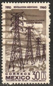 MEXICO 916, 30c 50th Anniv Mexican Revolution. Used. F-VF. (529)