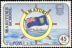 Tuvalu #166-169, Complete Set(4), 1982, Maritime Related, Never Hinged
