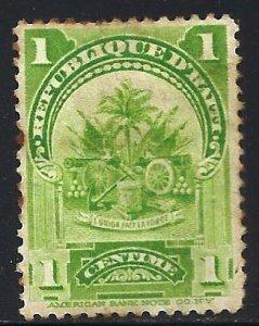 Haiti 1899 Scott# 53 Used