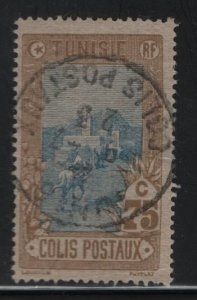 TUNISIA , Q7, USED, 1906 Mail delivery
