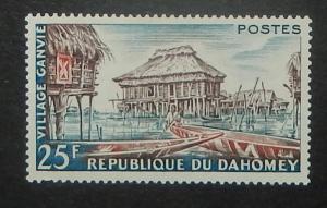 Dahomey 137. 1960 Ganvie Village