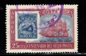 Costa Rica - #C362 Stamp of 1863 - Used