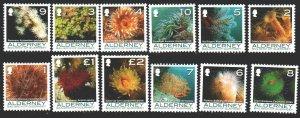 Alderney. 2006. 286-97. Corals, sea. MNH.