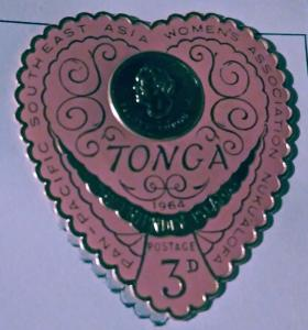 Forever Philately Tonga #142 Golden/ rose mint