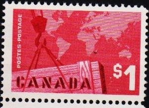 Canada. 1963 $1 S.G.536 Unused/No Gum