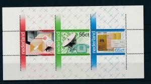 [16871] Netherlands Niederlande 1981 Centenary PTT Sheet MNH