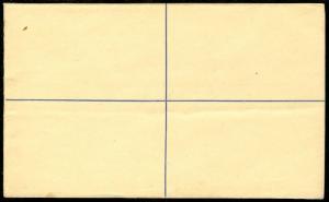 EDW1949SELL : LEEWARD ISLANDS Very Fine unused Registered Letter Envelope.