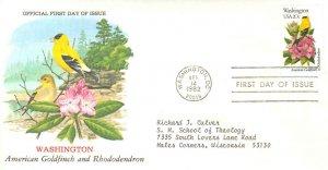 United States Scott 1999 Typewritten Address.