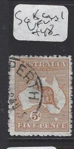 AUSTRALIA  (P2707B)   KANGAROO  5 D   CDS   SG  8     VFU     COPY 1