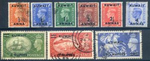 Kuwait SG84/92 Fine Used