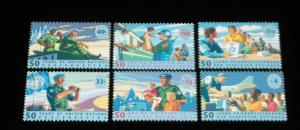 U.N.1998 PEACEKEEPING FORCES, SINGLES, MNH, ALL 3 OFFICES NICE!! LQQK!!!