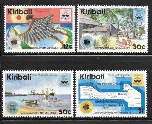 Kiribati 418-421: Aspects of Kiribati Life, MH, VF