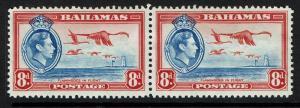 Bahamas SG# 160, Mint Never Hinged, Pair, Minor Creasing - Lot 021217