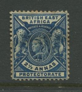 British East Africa-Scott 76 -QV Definitive Issue-1896 -MH -Single 2.1/2a  Stamp