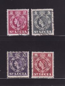 St Lucia 158, 160-161, 163 U Queen Elizabeth II (B)