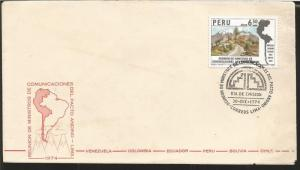 J) 1974 PERU, MEETING OF MINISTERS OF COMMUNICATIONS OF THE ANDEAN PACT, ANDEAN