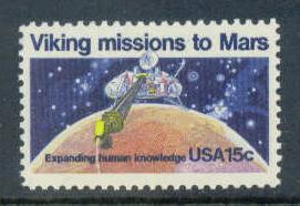 1759 15c Viking Missions Fine MNH Plt/4 UL 38712 F06687