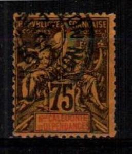 New Caledonia Scott 57 Used (Catalog Value $26.50)