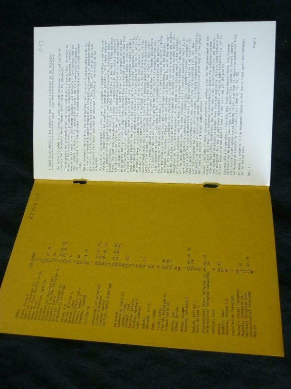 U.S. POSTAL HISTORY - DOCUMENTS 2 by HARRIS DEBLOIS