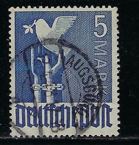 Germany AM Post Scott # 577, used