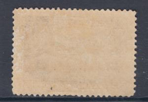 Canada Sc 103 MLH. 1908 20c yellow brown Ariival of Cartier, F-VF