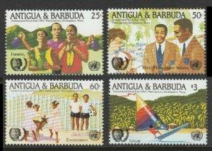 1985 Antigua and Barbuda 868-871 International Youth Year 6,00 €