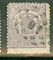 Netherlands 22 used CV $70