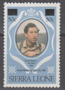 Sierra Leone #545 MNH F-VF  CV $6.00 (C2015)