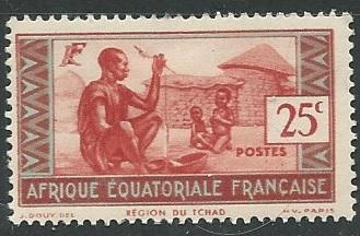 French Equatorial Africa  + Scott # 41 - MH
