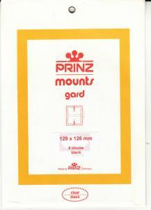 PRINZ BLACK MOUNTS 129X126 (8) RETAIL PRICE $10.50